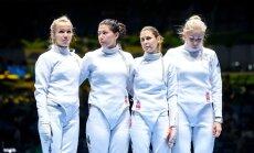 Rio olümpiamängude epeevehklemise naiskonnavõistlus