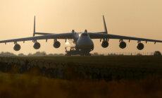 """Самый большой в мире самолет """"Мрия"""" совершил первый межконтинентальный перелет"""