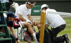 Kaksikute vannitamine maksis Roger Federerile olümpiamängud