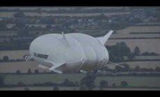 FOTOD JA VIDEO: Lõpuks! Brittide ehitatud maailma suurim õhulaev Airlander 10 tegi eile õhtul oma avareisi