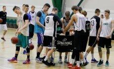 U18 korvpallikoondise treening