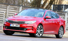 Motorsi Proovisõit: Kia Optima - suur uks avaneb suure nurga all