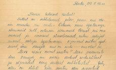 Kiri 1946. aastast: neiud kirjutavad Võrumaa noormehele