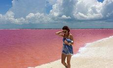 Lummav GALERII: Roosa laguun Mehhikos näeb välja nagu unistus, sest kuidas saab midagi nii ilusat päriselt olemas olla...