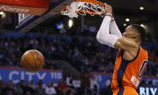 VIDEO: Westbrook hiilgas 42 punktiga, Paul Pierce jättis Bostoniga hüvasti
