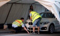 Eksperdid uurivad BMW-d millega ründaja peatati