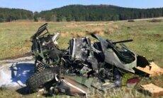 Taevalik avarii! USA armee pillas lennukilt kolm Hummerit rusudeks