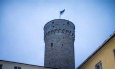 Lipu heiskamine Toompeal