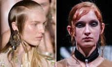 FOTOD! Alexander McQueen  versus  Thea Pilvet: kumma modellid kannavad värske soengutrendi paremini välja?