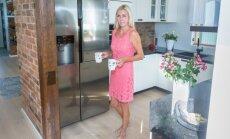 Taisi Oesso naudib oma uut kööki ja selles toimetamist.