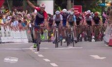 VIDEO: Võitu tähistanud Saksa rattur sai lõpus alles 73. koha