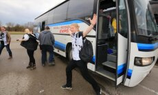FOTOD: LAHING ALAKU! Tartu Rocki fännid on Šiauliais kohal!