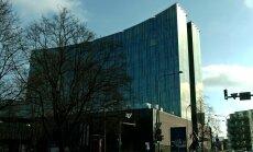 DROONIVIDEO: Vaata, kuidas Tallinna uusima hotelli fassaadile logo paigaldati