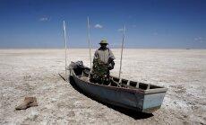 Boliivia suuruselt teine järv kuivas täielikult ära