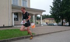 Sander Vaher võistlusrajal