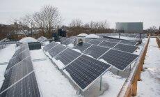 Mis võiksid küll olla targa maja katusel? Loomulikult päikesepaneelid