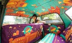 Такси на зависть: необычные такси появились на улицах индийского мегаполиса