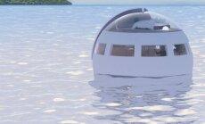 В Японии появится плавающий отель-капсула