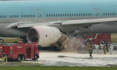 VIDEO ja FOTOD: Korean Airi lennukist evakueeriti Tokyos põlengu tõttu üle 300 inimese