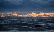 Pilvine taevas ja Läänemeri