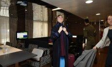 FOTOD: Äge valik! Oma esimesele välisvisiidile sõitnud Kersti Kaljulaid kandis kodumaise moelooja disainitud mantlit