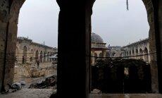 Aleppo 8. sajandi algusest pärinev suur mošee praegu