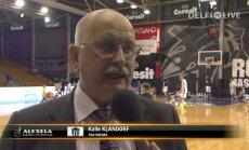 VIDEO: Kalle Klandorf: täna mängisime nagu mängiks kolmandale kohale