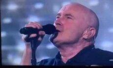 VIDEO: USA lahtiste avamisel esines Phil Collins isiklikult