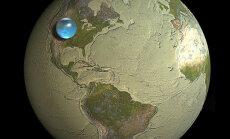 Kui kogu Maa vesi eraldi taevakehaks vormida, oleks see just nii suur - või väike - pallike