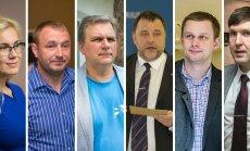 Kadri Simson, Kalvi Kõva, Andres Herkel, Sven Sester, Remo Holsmer ja Martin Helme