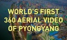 Ülipõnev! Maailma esimene aerovideo Põhja-Korea pealinnast Pyongyangist