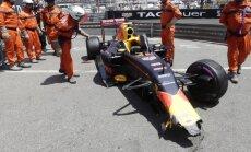 VIDEO: Verstappeni Monaco GP kvalifikatsioon lõppes seinas