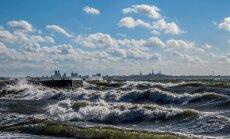 Läänemere põhjaosas mõõdeti laine kõrguseks 14 meetrit