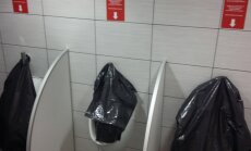 PIINLIKUD FOTOD: Milline Tallinna kaubanduskeskus peaks oma tualettide pärast häbi tundma?