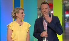 Nalja kui palju! Marko Reikop tegi kogemata riigitelevisiooni otse-eetris reklaami ja võitis Grete Lõbuga sõlmitud kihlveo