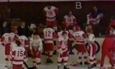 ВИДЕО: 30 лет назад произошла грандиозная хоккейная драка СССР - Канада