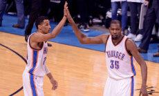 NBA TOP 5: Thunderi play-off leiud pakkusid kena kombinatsiooni