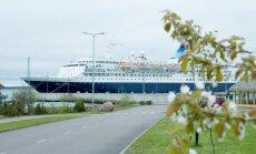 Kruiislaev Saga Sapphine Saaremaa sadamas