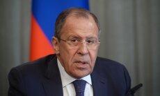"""Lavrov Rootsi lehele: Balti riigid pole """"rahus minna"""" laskmise eest mingit tänu üles näidanud"""