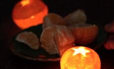 VIDEO: Söö mandariin ära ja tee koorest romantiline tsitrusküünal