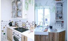 Imeline köök disaineri kodus, kus kohtuvad värvimäng ja ideede küllus