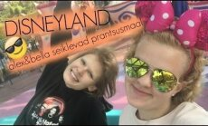 VIDEOBLOGI: Tippmodell Alexandra Elizabeth Ljadov külastas sõbrannaga Disneylandi