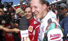 Massa ja Schumacher