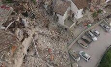 DROONIVIDEO: Maavärinast tabatud Pescara del Tronto mägikülas valitseb totaalne häving
