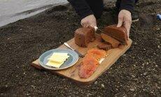 ВИДЕО: Как испечь хлеб по-исландски? На вулкане!