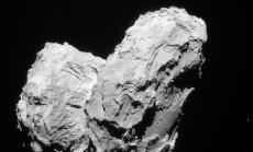 ФОТО: Космический аппарат столкнулся с кометой Чурюмова-Герасименко