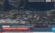 Norra rannikul kukkus alla helikopter 13 inimesega pardal