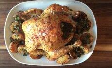 KIIRE ÕHTUSÖÖGI SOOVITUS: Ideaalne röstitud kana