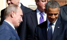 Uus külm sõda: Obama helistas pingete ajel Putinile