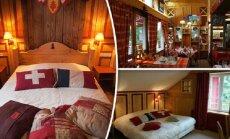 Необычный отель: ложишься спать в Швейцарии, а проснуться можешь во Франции
